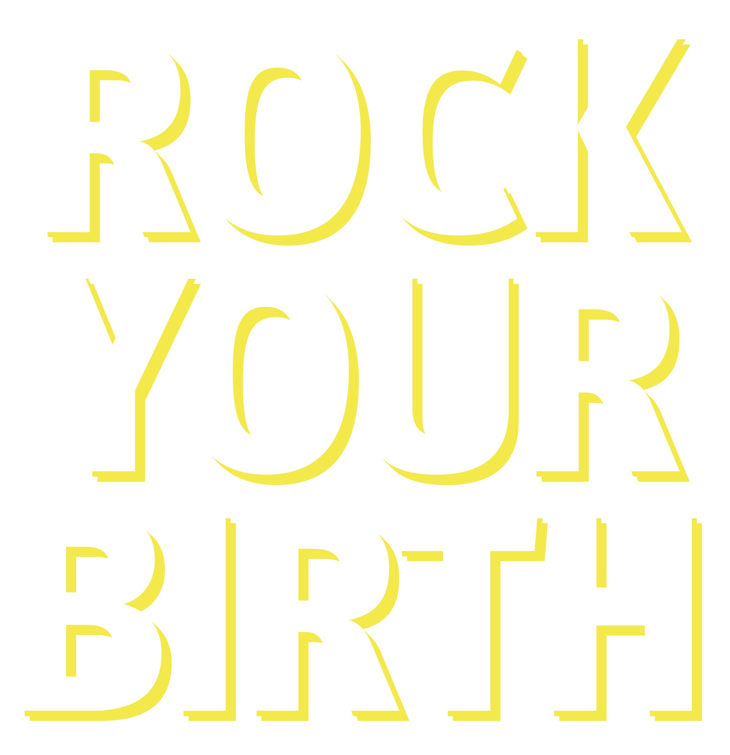 Rock Your Birth met Mamalogisch